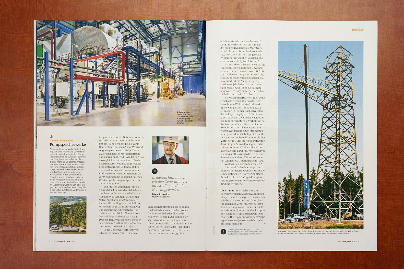 power grid Germany | dena magazin 04_2014